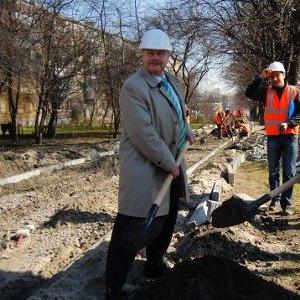 Керівник відділу Міністерства економічного розвитку і співпраці ФРН Лео Кройц побував на вул. Липинського