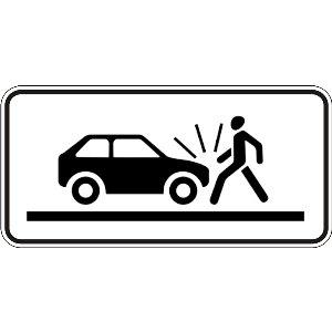 7.21.3 Вид небезпеки (наїзд на пішохода)