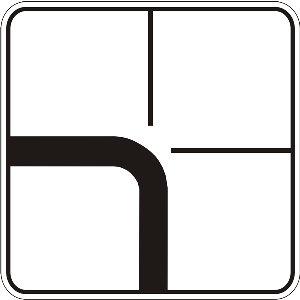 7.8 Напрямок головної дороги