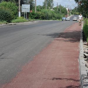 Збудовано 3 км велосмуг у обидва боки по вул. Зеленій