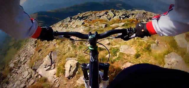 Вело-фрірайд по Карпатах (відео)