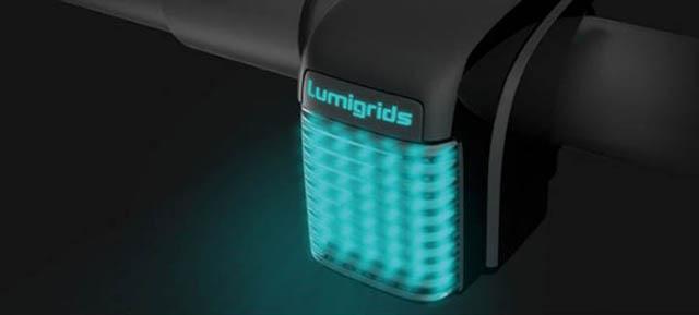 Світлодіодний проектор для велосипеда, який дозволяє побачити ями на дорозі