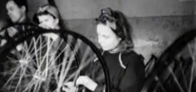 Виробництво велосипедів на Львівському велосипедному заводі 1946 року