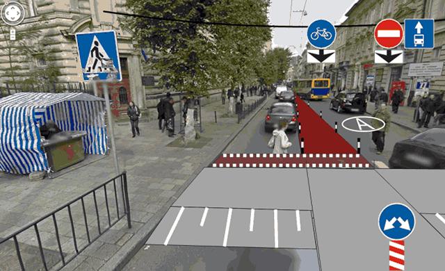 Пішохідні переходи підняті на рівень тротуару
