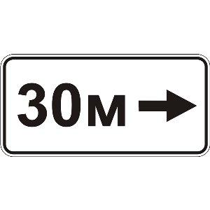 7.2.5 Зона дії (зона дії направо)