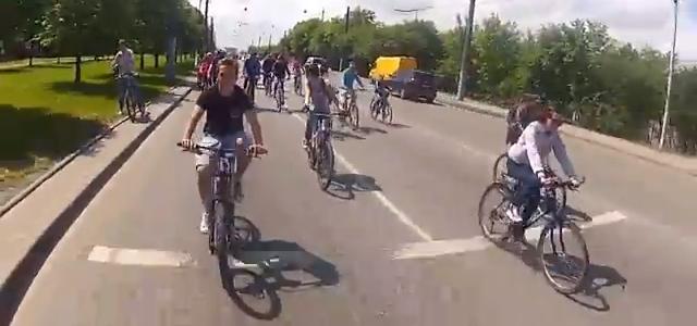 Велодень-2013 у Львові  (відео)