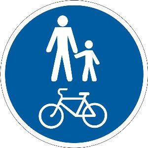 4.14 Доріжка для пішоходів і велосипедистів