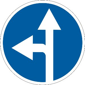 4.5 Рух прямо або ліворуч