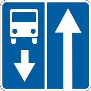 5.8 Дорога із смугою для руху маршрутних транспортних засобів