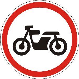 3.6 Рух мотоциклів заборонено