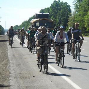 Велопроща в Страдч