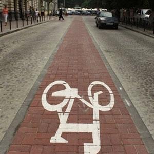 Велодоріжку до Стрийського парку продовжать в цьому році