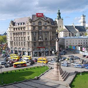 Частину площі Міцкевича пропонується віддати пішоходам і велосипедистам