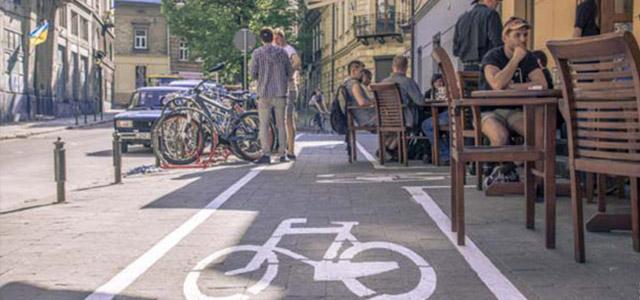 Байк-кафе Radler: локація велосипедистів