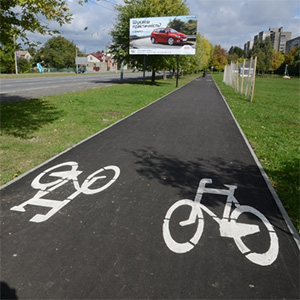 На усіх дорогах, які цьогоріч ремонтуватимуть у Львові, Садовий обіцяє велодоріжки