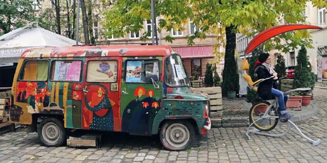 Велозарядка у Львові