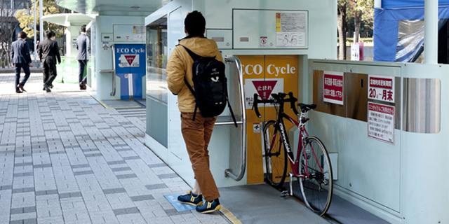 У Японії створили автоматичний підземний велопаркінг