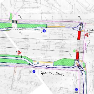 На вулиці Княгині Ольги у Львові збудують велодоріжку